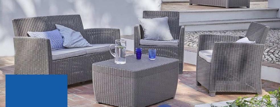 Les beaux jours sont là, le mobilier de jardin aussi !