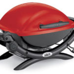 Barbecue Q1400 rouge Weber à 239€