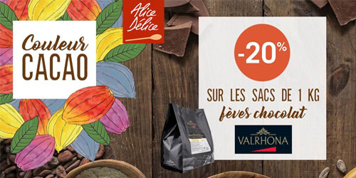 Offre chocolat Valrhona