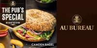 Camden Bagel au pastrami, comté & sauce Philadelphia-Savora