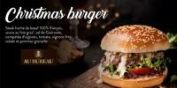 actu Christmas Burger !