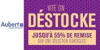 actu Destockage Aubert !