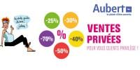 actu Ventes privées clients privilège !