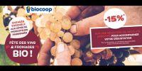 actu Fête des vins & fromages bio !