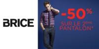 actu -50% sur le 2ème pantalon