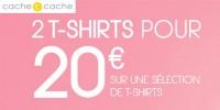actu 2 t-shirts pour 20�