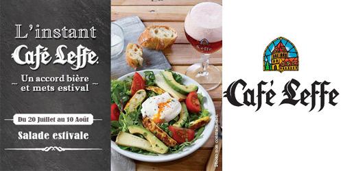 L'Instant Café Leffe !