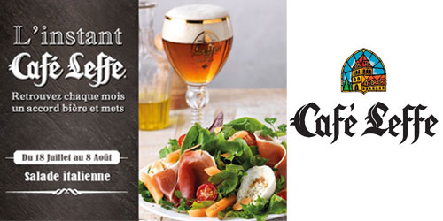L'été arrive chez Café Leffe !