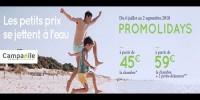 actu Promolidays - Vacances d'été