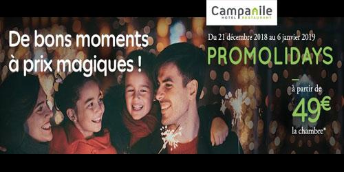 Promolidays - Vacances de Noël