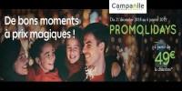 actu Promolidays - Vacances de Noël