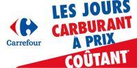 Le carburant est à prix coûtant chez Carrefour !