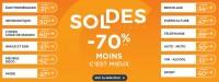 actu Soldes -70% !