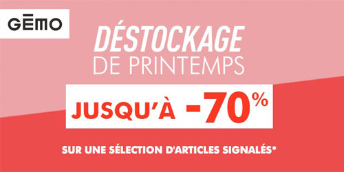 Destockage de printemps !