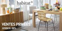 actu Ventes privées Habitat !