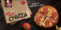 KFC réinvente la pizza !