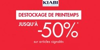 actu Destockage de printemps !