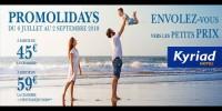 actu Promolidays vacances d'Eté