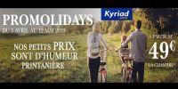 actu Promolidays - Vacances de Pâques !
