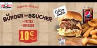 actu Burger du boucher !