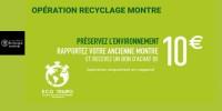 actu Opération recyclage montre