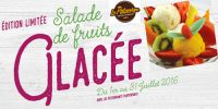 La salade de fruits glac�e !