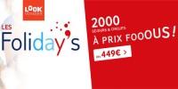 actu Les Folidays !