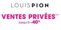 actu Ventes privées Louis Pion !