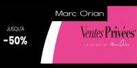 actu Ventes privées Marc Orian !