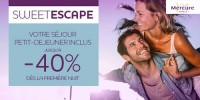 actu Sweet Escape Mercure