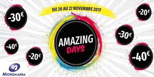 Amazing days !