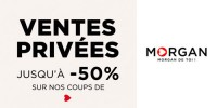 actu Ventes privées Morgan !