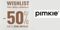 Le 2ème article à -50% sur une sélection !