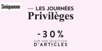 actu Les journées privilèges !