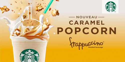 Nouveau Frappuccino !