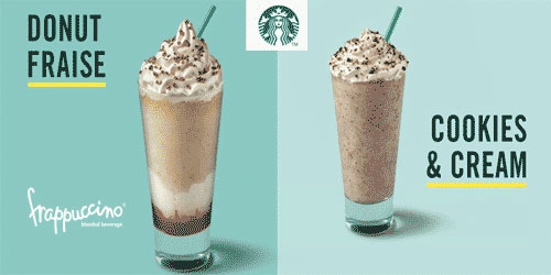 Frappuccinos du moment