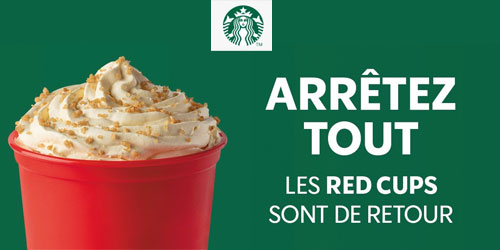 Les red cups !