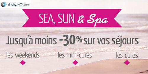 Sea, sun & spa !