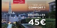 actu Bruxelles à partir de 45� !