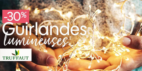 Offre guirlandes lumineuses