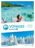 catalogue leclerc voyages de la saison - brochure...