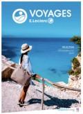 image leclerc voyages selection printemps-ete 2020