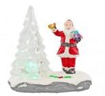 photo Figurine de Noël avec lampe