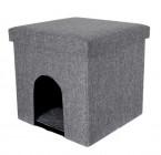 photo Maison pour chats avec pouf