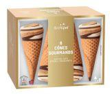 6 cones gourmands