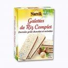 6 galettes de riz fourreacutees goucirct chocolat et noisettes