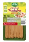 6 saucisses de francfort bio