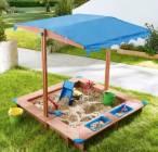 bac a sable avec toit