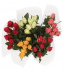 photo Bouquet de roses premium 7 tiges