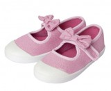 chaussures en toile fille